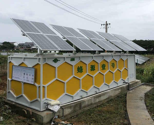 蜂源壹号-纯太阳能一体化污水处理设备